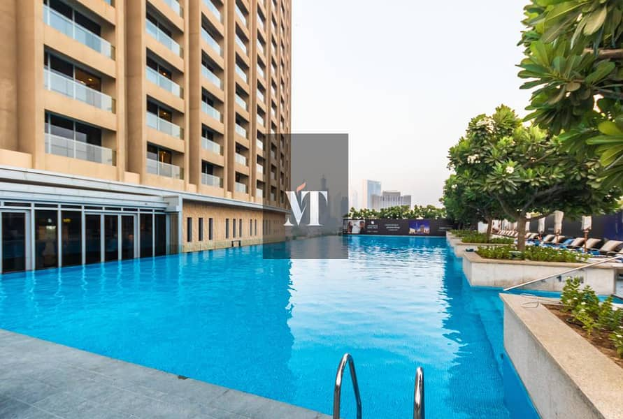 12 Fully Furnished   Burj View   1 BR  