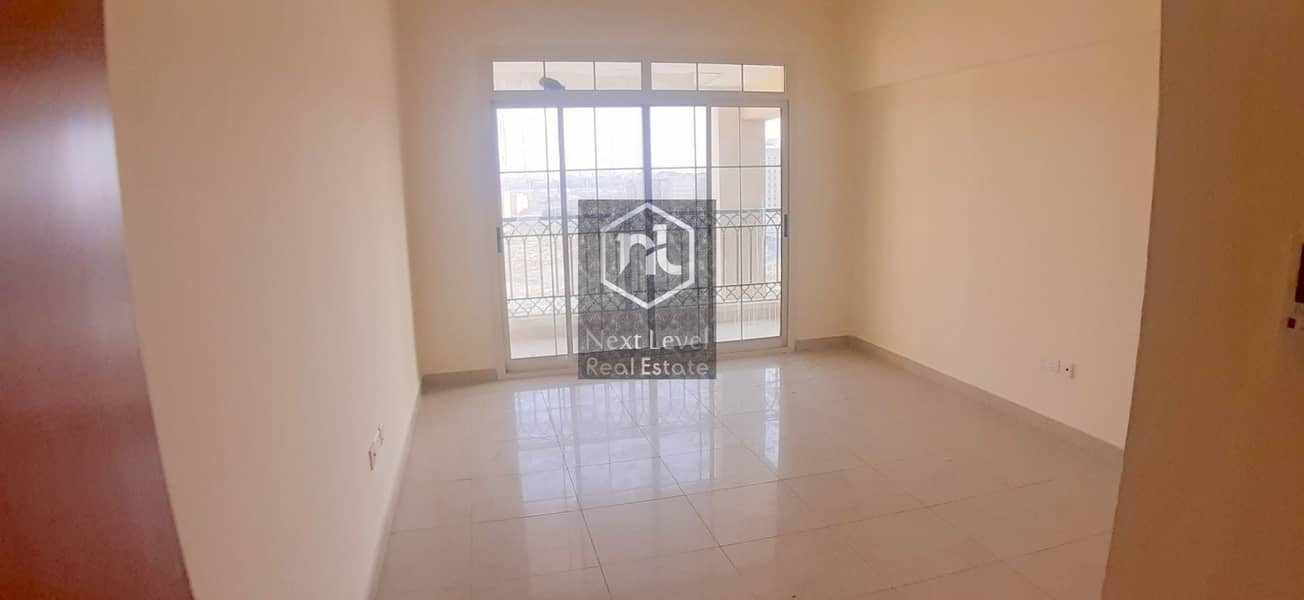 LARGE 2 BED ROOM-BALCONY+PARKING-OPEN VIEW-ROYAL RESIDENCE-CBD