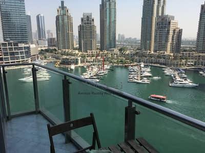 شقة 1 غرفة نوم للايجار في دبي مارينا، دبي - Luxury 1BR Apt   Marina Lake VIEW   Balcony  
