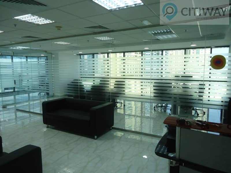 2 Offices Combined   Glass Partitioned   Spacious