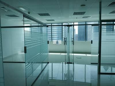 مکتب  للايجار في الخليج التجاري، دبي - Canal View | Glass Partitions | 2 Parkings | Fitted Office in XL Tower