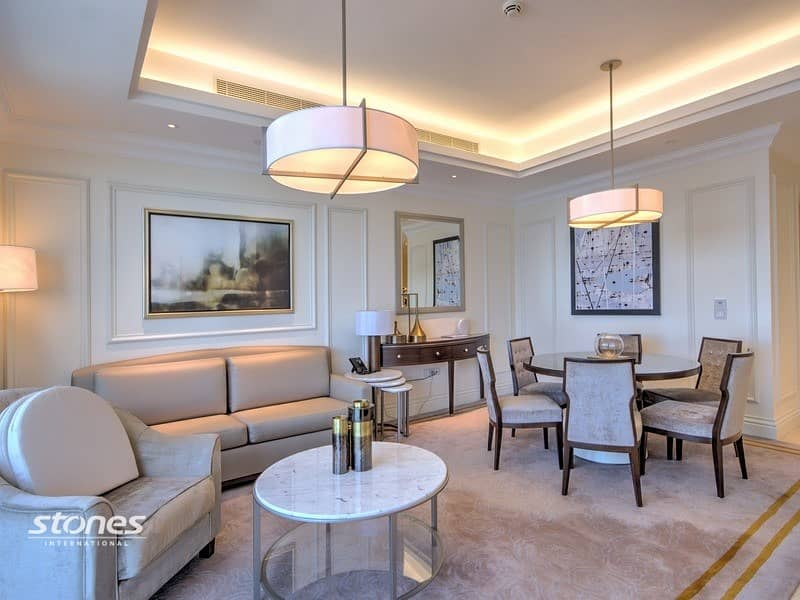 Elegantly Furnished Apartment with Views of DIFC
