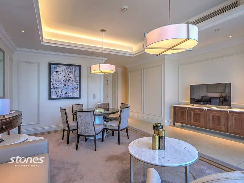 2 Elegantly Furnished Apartment with Views of DIFC