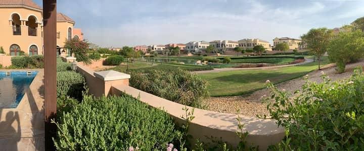 فیلا 6 غرف نوم للايجار في عقارات جميرا للجولف، دبي - Corner Villa / 6 BR + big study / Private Pool