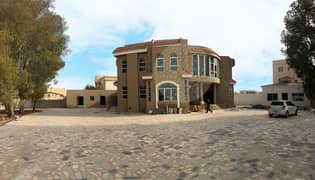 GORGEOUS 5 BEDROOM STAND ALONE VILLA IN A VERY BIG PLOT WITH SWIMMING POOL FOR RENT IN MOHAMMED BIN ZAYED