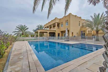7 Bedroom Villa for Rent in Arabian Ranches, Dubai - Upgraded 7 Bed || Type 12 || Full Golf Course View