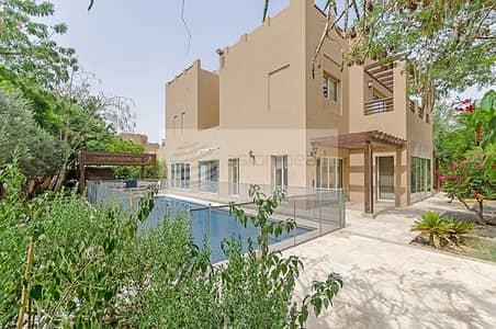 فیلا 5 غرف نوم للايجار في المرابع العربية، دبي - Extended / Upgraded Type E2 | 5BR+M | Private Pool