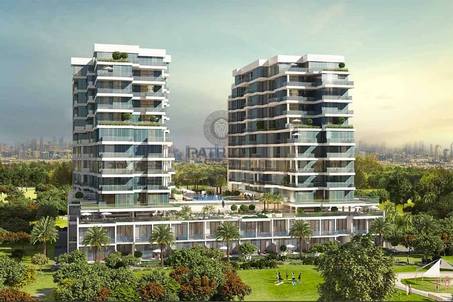 8 SALE !!!620K AND GET LUXURIOUS 1 BED IN DAMAC HILLS ORCHID TOWER B