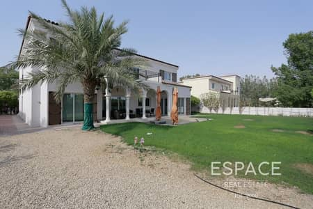 5 Bedroom Villa for Rent in Green Community, Dubai - Grey Water | Well Maintained | 5 Bed + M
