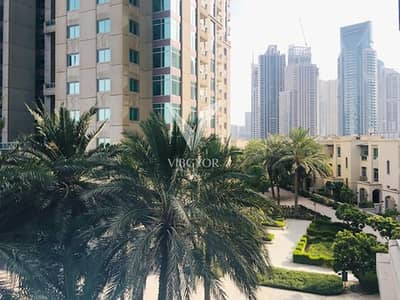 2 Bedroom Flat for Rent in Dubai Marina, Dubai - Vacant | With Study | Low Floor | Good Condition
