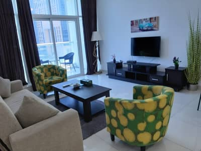 1 Bedroom Flat for Rent in Dubai Marina, Dubai - hot summer offer amazing  fully furnished One bed room apartment  with corner city view