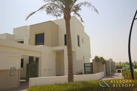 4 Bedroom Villa for Rent in Town Square, Dubai - 4 Bedroom | Large Corner Unit | Single Row