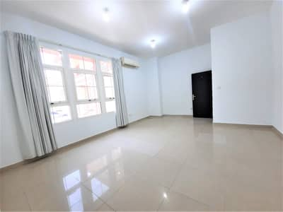 Studio for Rent in Khalifa City A, Abu Dhabi - Ground Floor Big Studio with Separate Spacious Kitchen and Monthly Payment