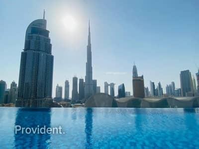 شقة 2 غرفة نوم للبيع في وسط مدينة دبي، دبي - Luxurious | Vacant | Burj Khalifa View