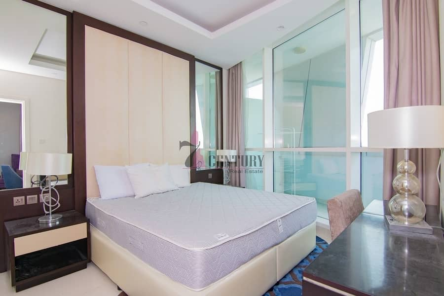 High Floor | Furnished 1 BR | Burj Area