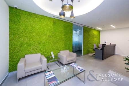 مکتب  للايجار في الخليج التجاري، دبي - Furnished | 12 Parking Spaces | Meeting Rooms