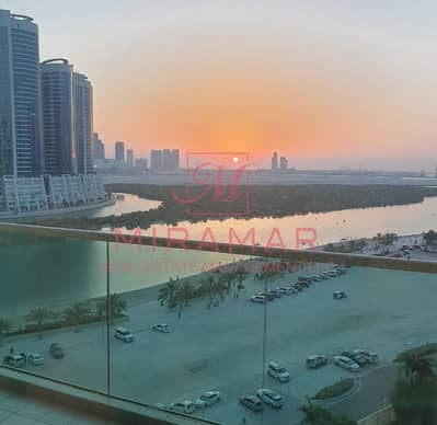 2 Bedroom Apartment for Rent in Al Reem Island, Abu Dhabi - FULLY FURNISHED!!! LARGE 2 B+MAIDS!!! AMAZING VIEW! HIGH FLOOR!