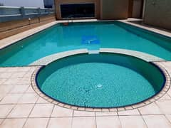 1 MONTH FREE ONE BHK APARTMENT WITH BALCONY+WARDROABE GYM & POOL AVAILABLE 29K ,6 CHQs AL KHAN SHARJAH