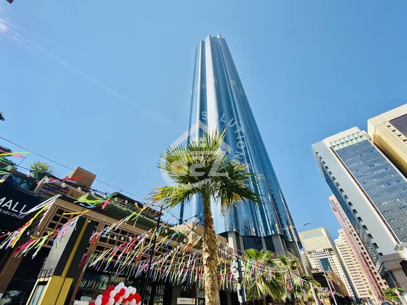 3 BR in the Tallest Residential Tower in Abudhabi!Burj Mohammed Bin Rashid