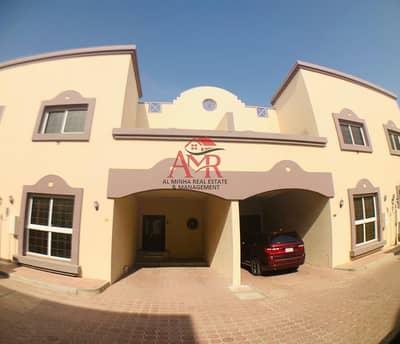 فیلا 4 غرف نوم للايجار في المطارد، العین - 4 Bedrooms Compound Villa With Back Yard & Swimming Pool