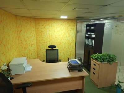 Fitted and Partition Office For Rent- Dewa, Wifi & Meeting Room Free