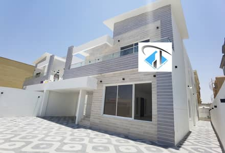 5 Bedroom Villa for Sale in Al Rawda, Ajman - Used Villa with electricity , water and A/c big building area nearby shk. Amar St.