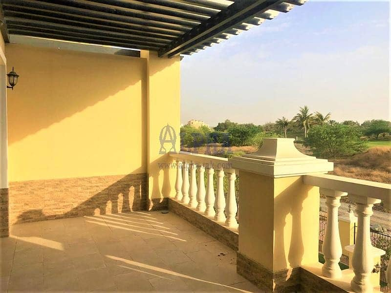 2 Golf Course View! Unfurnished 3 Bedroom