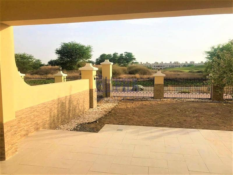10 Golf Course View! Unfurnished 3 Bedroom