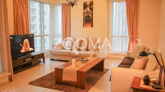 فلیٹ 1 غرفة نوم للايجار في دبي مارينا، دبي - 1 Month Free | Chiller Free | Furnished