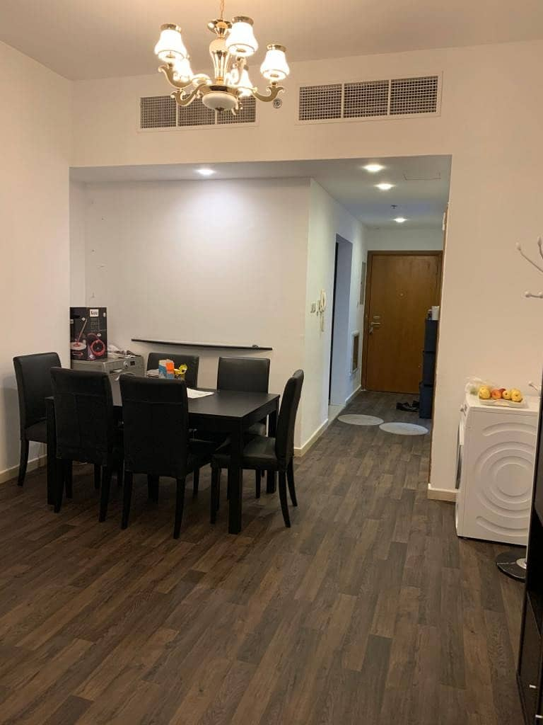 For rent apartment room and lounge in Ajman towers and an excellent area and Super Deluxe finishes
