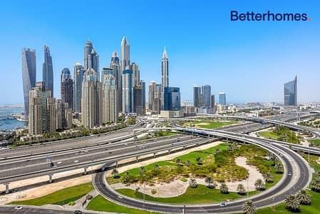 شقة 2 غرفة نوم للبيع في أبراج بحيرات الجميرا، دبي - Tamweel Tower - Golf Course & Sheikh Zayed View