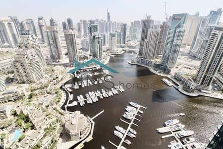 شقة 3 غرف نوم للبيع في دبي مارينا، دبي - Exclusive | Amazing Marina Views | High Floor