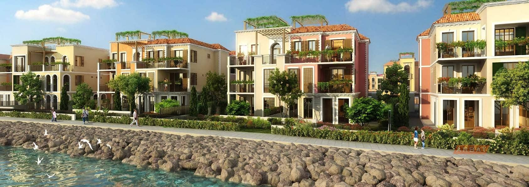 15 Townhouse  by the beach