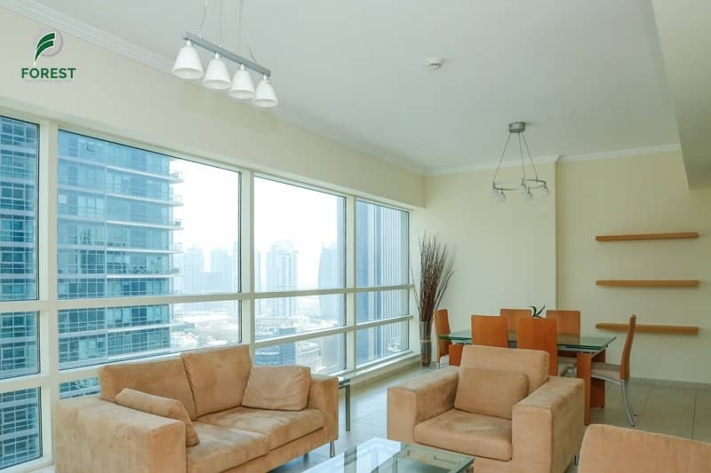 Fully Furnished |Partial Marina View | High Floor
