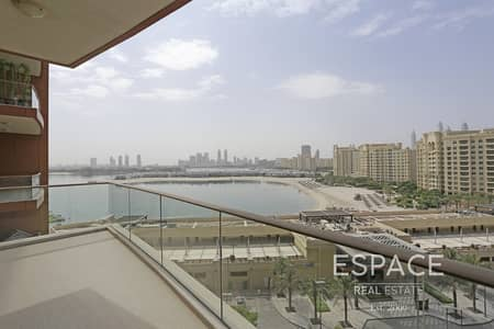 2 Bedroom Flat for Rent in Palm Jumeirah, Dubai - Full Sea View - Genuine Images - Keys With Me