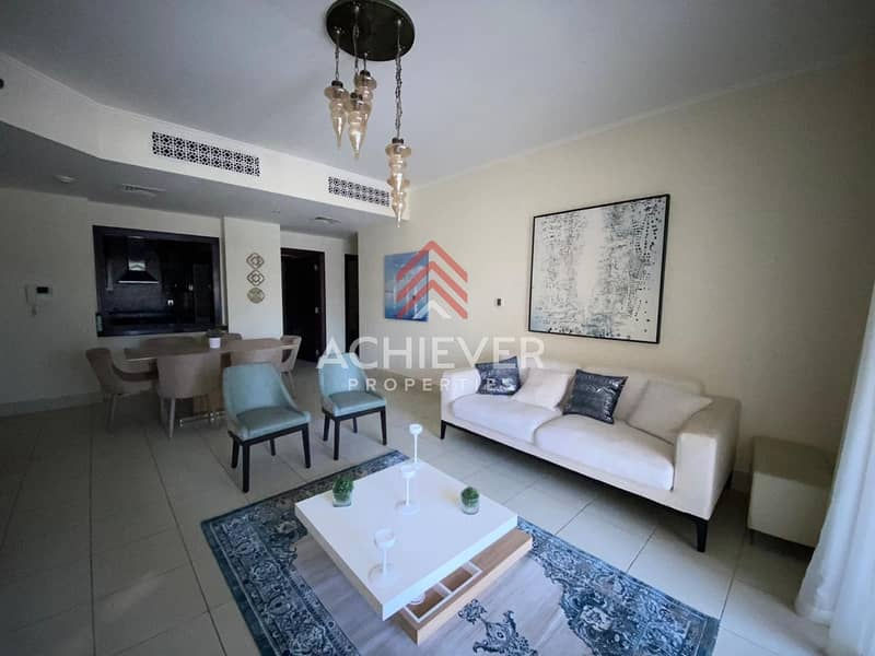 2 Well Maintained | Furnished | 2 B/R + Study