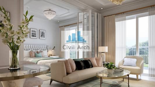 3 Bedroom Flat for Sale in Arjan, Dubai - Lovely 3br+5years Pay+zero DLD+8% ROI