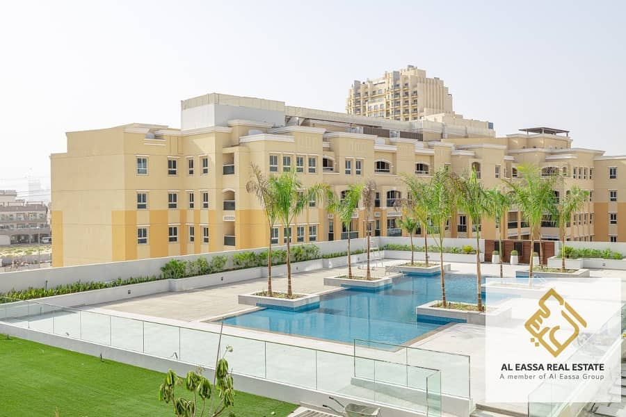 15 Pool View | Brand New 1 Bedroom |