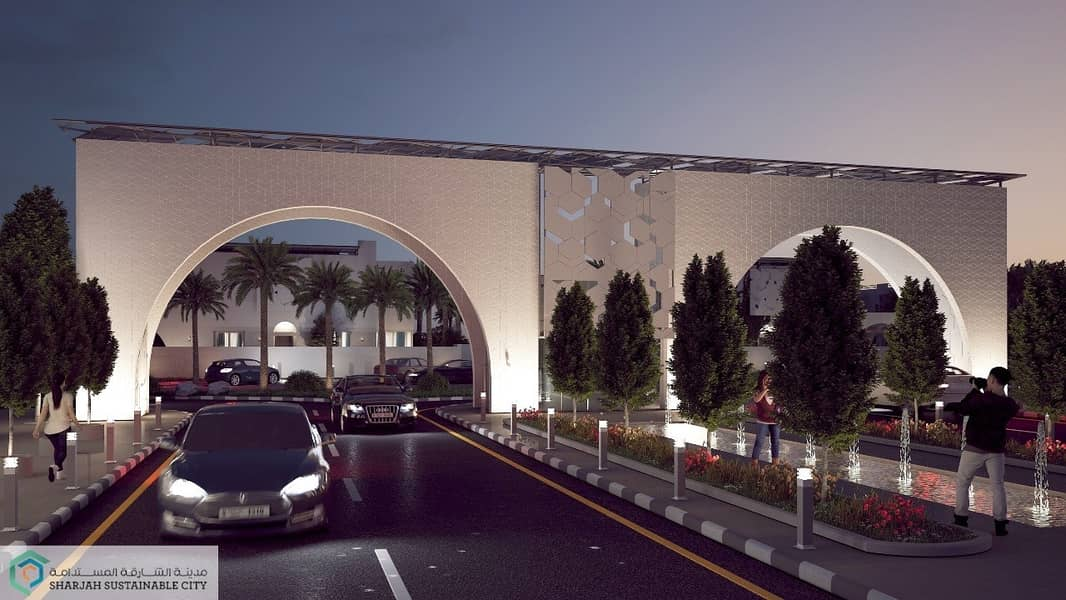 Invest in a sustainable gated community the best deal in Al Rahmaniya Sharjah