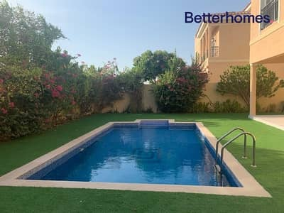 5 Bedroom Villa for Rent in The Villa, Dubai - Well Maintained 5 Bed Villa|Private Pool|Lush Garden