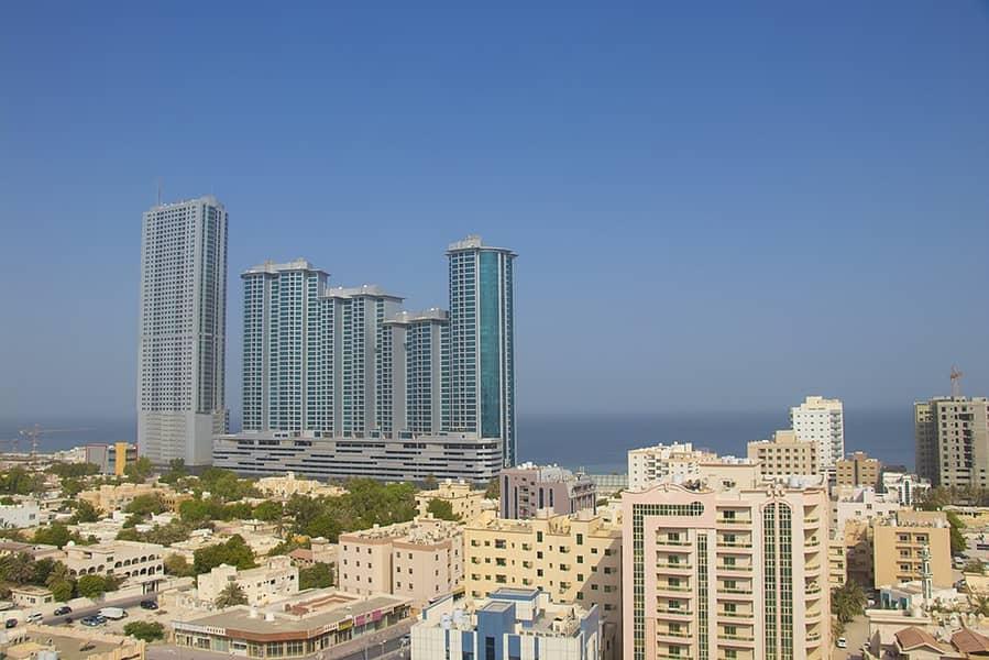 بنايه جديده اول ساكن  2Bhk  في مبنى الرميلة 1 ، عجمان. شقة فسيحة بلا عمولة. صيانة مجانية .