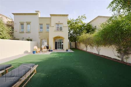 فیلا 2 غرفة نوم للبيع في الينابيع، دبي - Upgraded | Large Plot | Rented |  Back to Back