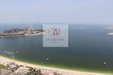بنتهاوس 4 غرف نوم للايجار في جميرا بيتش ريزيدنس، دبي - Penthouse 4BR+Maids Sea Marina View