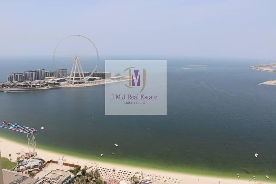 Penthouse 4BR+Maids Sea Marina View