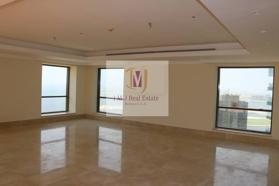 2 Penthouse 4BR+Maids Sea Marina View