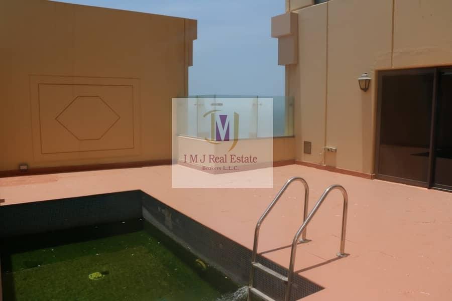19 Penthouse 4BR+Maids Sea Marina View