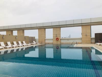 Studio for Rent in Al Nahyan, Abu Dhabi - Top Class Studio in a Luxury Tower with All Facilities