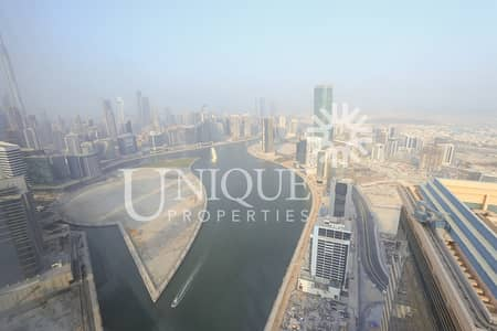 5 Bedroom Penthouse for Sale in Business Bay, Dubai - Panoramic City view Penthouse | High Floor