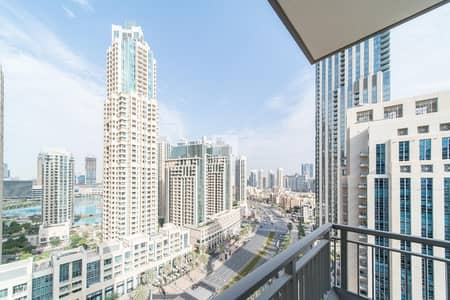 2 Bedroom Apartment for Sale in Downtown Dubai, Dubai - Vacant on Transfer | Top Floor | 2 Bedroom