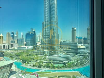 2 Bedroom Apartment for Rent in Downtown Dubai, Dubai - 2 BR On High Floor|Burj Khalifa View|Vacant
